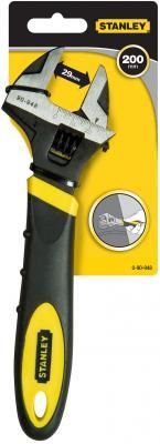 Ключ разводной STANLEY MaxSteel 0-90-948 (0 - 24 мм) 200мм ключ разводной stanley 250мм