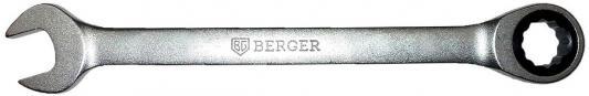 Ключ BERGER BG1096 трещоточный 8мм ключ трещоточный комбинированный berger 27 мм bg1108