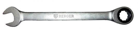Ключ BERGER BG1103 трещоточный 16мм ключ трещоточный комбинированный berger 27 мм bg1108