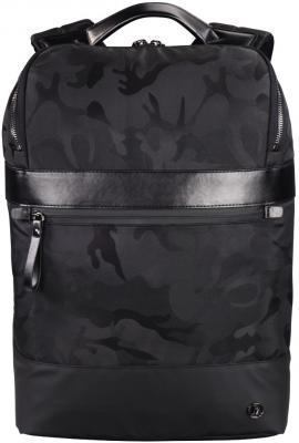 """Рюкзак для ноутбука 15.6"""" HAMA """"Camo Select"""" полиуретан черный камуфляж 00101823 цена и фото"""