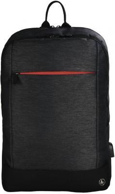 """Рюкзак для ноутбука 15.6"""" HAMA """"Manchester"""" полиэстер черный 00101825"""