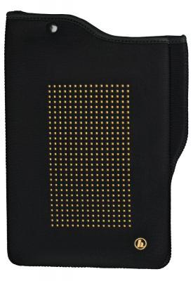 """Чехол Hama универсальный для планшетов с экраном 9.7"""" неопрен черный золотистый 00182356 стоимость"""