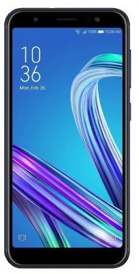 Смартфон ASUS Zenfone Max M1 ZB555KL 16 Гб черный (90AX00P1-M00630) цена