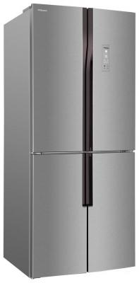 Холодильник Side by Side Hansa FY418.3DFXC серебристый холодильник side by side iomabe ore 24 vghfnm черный