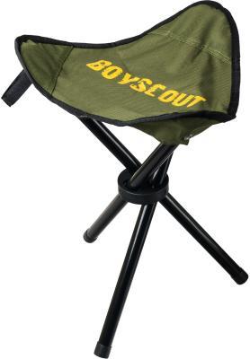 BOYSCOUT Табурет складной 31х31х38 см на трех ножках в чехле табурет складной туристический 24x21x26см boyscout 61064