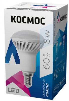 Купить Лампа светодиодная КОСМОС LED R50 8Вт 220В E14 4500К