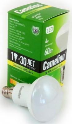 Лампа светодиодная CAMELION LED6-R50/830/Е14 6Вт 220В Е14 лампа светодиодная camelion led6 5 g45 830 е27 6 5вт 220в е27