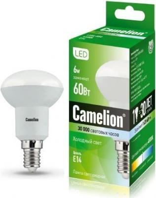 Лампа светодиодная CAMELION LED6-R50/845/Е14 6Вт 220В Е14 упаковка ламп 3 шт экономка рефлектор r50 6вт е14 230v 4500k белый свет