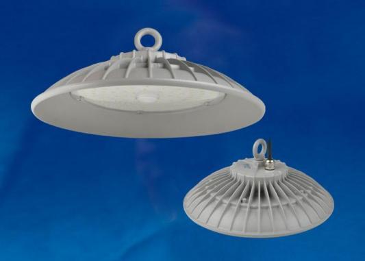Подвесной светодиодный светильник (UL-00003180) Uniel ULY-U33B-100W/DW IP65 Silver подвесной светодиодный светильник ul 00002322 uniel uly u40c 150w dw ip65 black