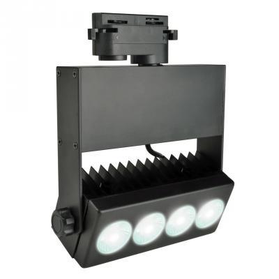 Трековый светодиодный светильник (UL-00002628) Uniel ULB-S41R-35W/NW Black uniel ulb 08542
