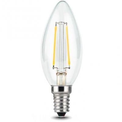 Лампа светодиодная GAUSS 103801105 LED Filament Candle Е14 5Вт 2700к 1/10/50 edison led filament bulb g125 big global light bulb 2w 4w 6w 8w led filament bulb e27 clear glass indoor lighting lamp ac220v