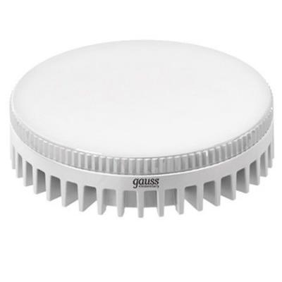 купить Лампа светодиодная GAUSS 108008206 LED GX53 6W 4100K по цене 225 рублей