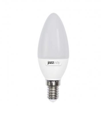 Лампа светодиодная JAZZWAY PLED-SP-C37 pled-sp c37 7Вт 5000k 560лм e14 230в обложки для документов petek 584 pgt 14