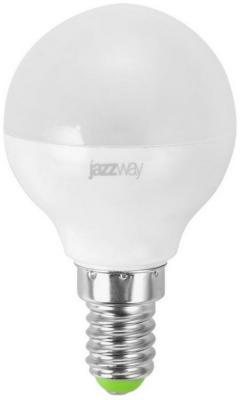 Лампа светодиодная JAZZWAY PLPLED-SP-G45 pled-sp-g45 7Вт 3000k 530лм e14 230в лампа настольная jazzway ptl 016c blue