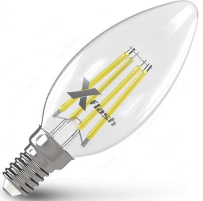 Лампа X-FLASH XF-E14-FL-C35-4W-2700K-230V 4Вт