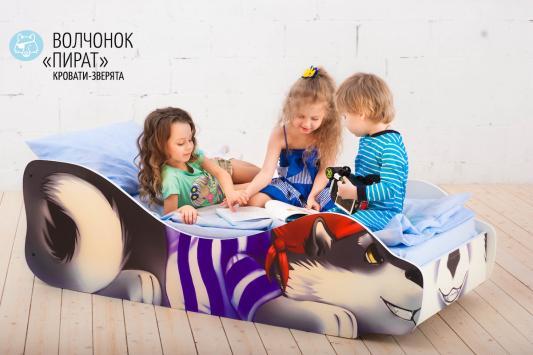 Кровать Бельмарко Волчёнок-Пират утюг 4870
