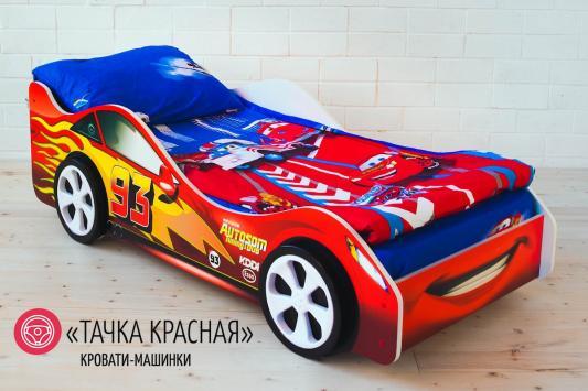 Кровать-машина Бельмарко Тачка (красная)