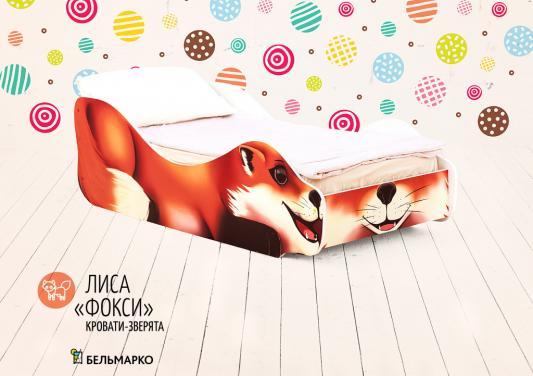 Купить Кровать Бельмарко Лиса-Фокси, БЕЛЬМАРКО, рисунок, ЛДСП, Кровати-машины