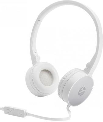 Гарнитура HP H2800 серебристый белый гарнитура ienjoy in066