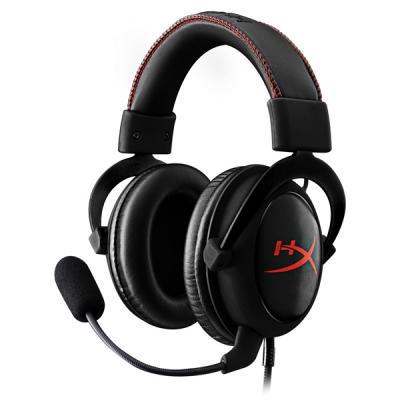 Игровая гарнитура проводная Kingston KHX-HSCC-BK черный игровая гарнитура проводная marvo h8312 bk rd красный черный