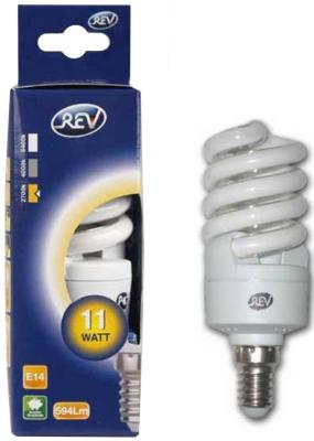 Лампа энергосберегающая REV RITTER 32250 4 11W E14 2700K звонок rev ritter 14810 4