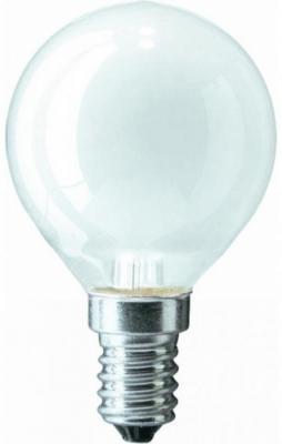 Лампа накаливания PHILIPS P45 40W E27 FR шарик матовый philips b35 40w e14 fr 1