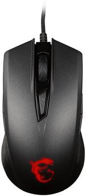 лучшая цена Мышь проводная MSI Clutch GM40 чёрный USB