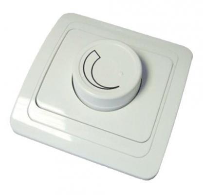 Диммер TDM SQ1804-0016 светорегулятор RL 600Вт поворотный белый валдай
