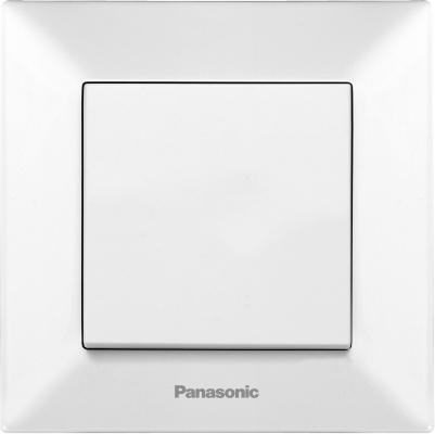 Выключатель PANASONIC WMTC0001-2WH-RES Arkedia 1кл белый