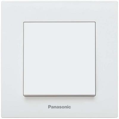 Механизм выключателя PANASONIC WKTT0001-2WH-RES Karre Plus 1кл белый