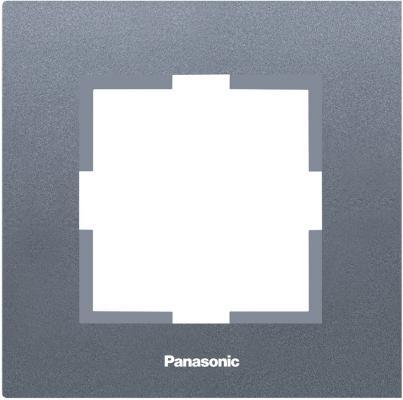 Рамка PANASONIC WKTF0801-2DG-RES Karre Plus 1м темно-серый