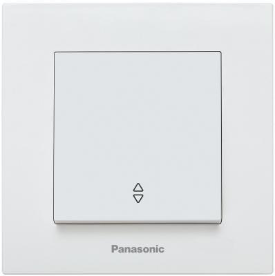Механизм переключателя PANASONIC WKTT0003-2WH-RES Karre Plus 1кл проходной белый