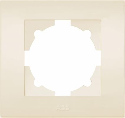 Рамка ABB COSMO 612-010300-271 кремовый 1 постовая