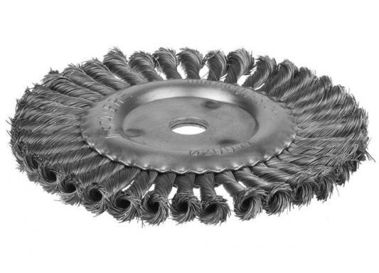 Кордщетка DEXX 35100-200 дисковая для УШМ жгутированные пучки сталь0.5мм 200мм/22мм струбцина dexx 3205 50 200