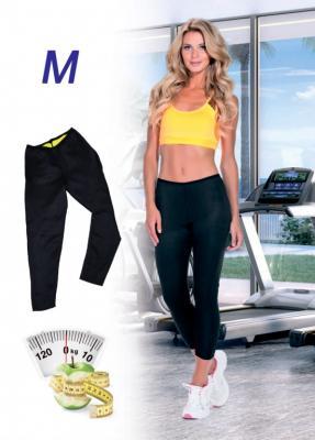 Леггинсы длинные для похудения «ХОТ ШЕЙПЕРС», размер M SF 0203 майка для похудения женская bradex хот шейперс цвет черный белый sf 0222 размер m 46