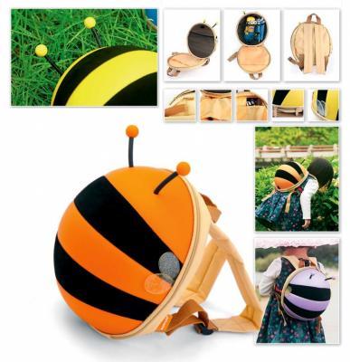 Ранец детский «ПЧЕЛКА» оранжевый DE 0184 ранец детский пчелка оранжевый de 0184 page 3