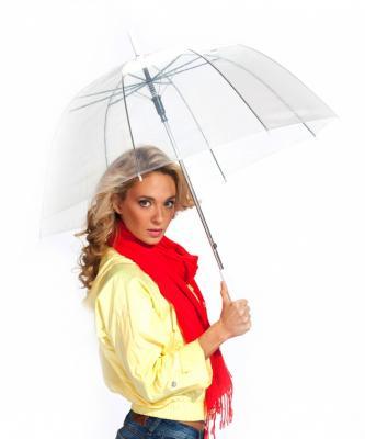 Зонт-трость «ПРОЗРАЧНЫЙ КУПОЛ» SU 0009
