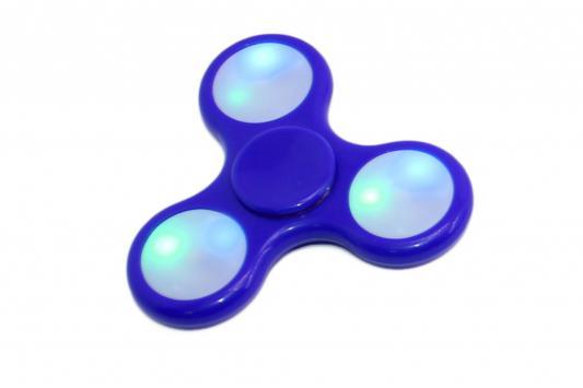 Спиннер-антистресс с LED подсветкой, синий SU 0070