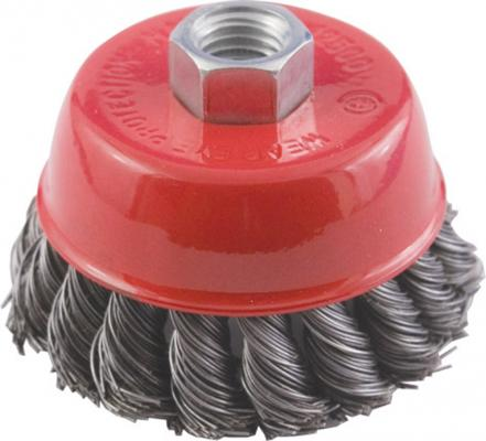 Кордщетка КУРС 39045 чашечная для ушм стальная 150мм