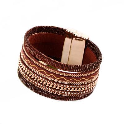 Браслет «БОХО» коричневый AS 0169 стоимость