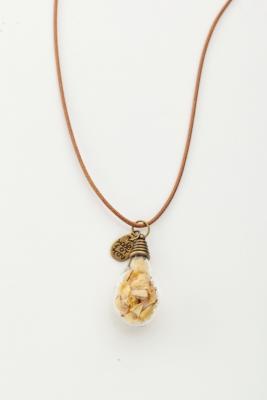 Купить Кулон «ЛАМПОЧКА» желтый AS 0254, Bradex