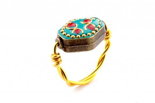 Кольцо «ИСПАНСКАЯ МОЗАИКА» размер 17 AS 0038 кольцо bradex аннабель