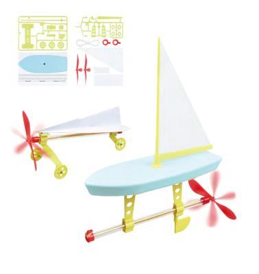 Набор для сборки моделей с пропеллером «ЮНЫЙ ИНЖЕНЕР» DE 0121