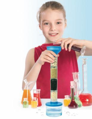 Набор для проведения опытов по очистке воды «ЮНЫЙ УЧЁНЫЙ» DE 0120 набор для опытов научные развлечения юный физик start электричество