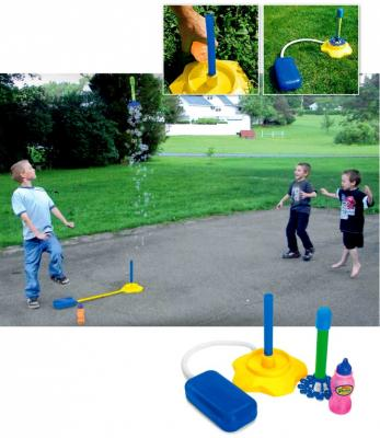 Ракета с мыльными пузырями и помпой «БАББЛ» DE 0178 игрушка bradex ваббл баббл бол de 0116