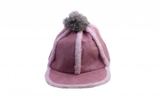 Шапка с помпоном розовая AS 0302 шапка женская bradex цвет бежевый as 0304 размер универсальный