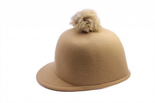 Шапка с козырьком беж AS 0304 шапка женская bradex цвет розовый as 0298 размер универсальный