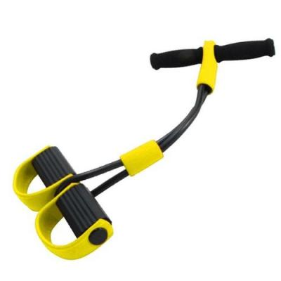 Тренажер для фитнеса с эспандерами «ФИТНЕС-ТРЕНЕР» SF0038 эспандер bradex для тела с эспандерами фитнес тренер body trimmer sf 0038