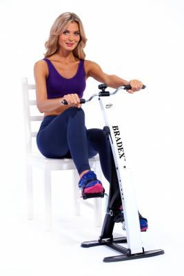 Тренажер педальный для ног и рук «ДУАЛ БАЙК» SF 0099 тренажер педальный bradex dual bike