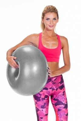 Мяч для фитнеса «ФИТБОЛ-ПОНЧИК» SF 0217 цена